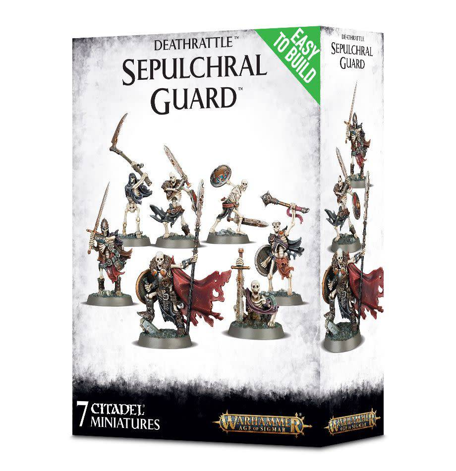 Games Workshop Easy To Build: Deathrattle Sepulchral Guard
