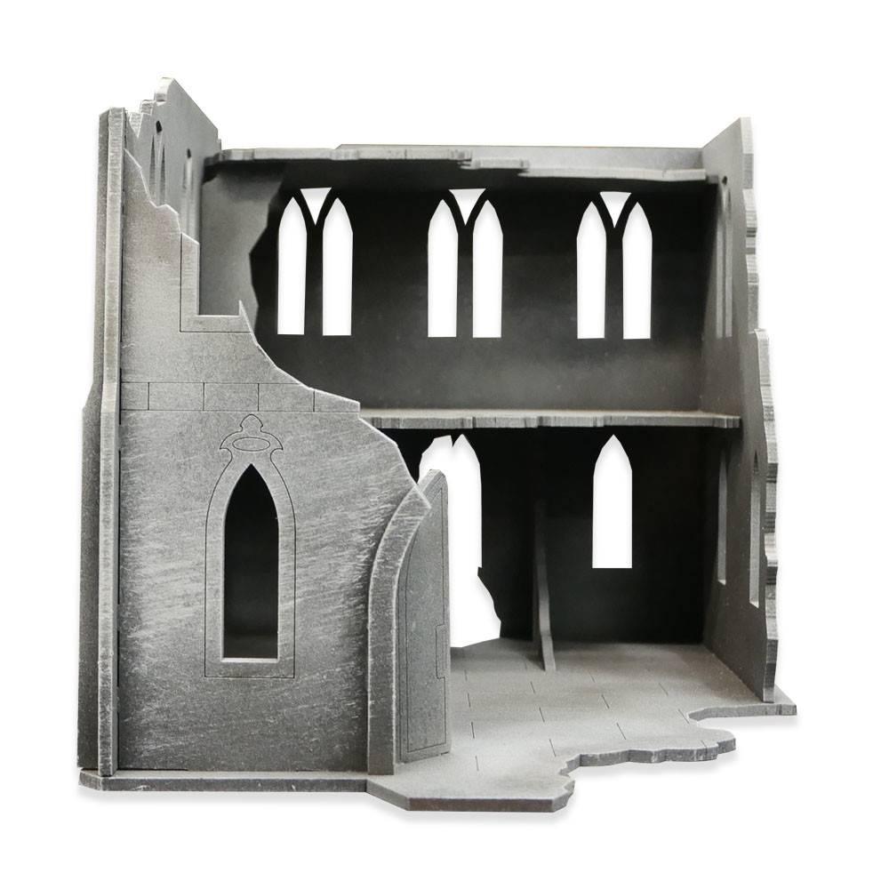 Frontline Gaming ITC Terrain Series: Gothic Ruins Manor Bundle
