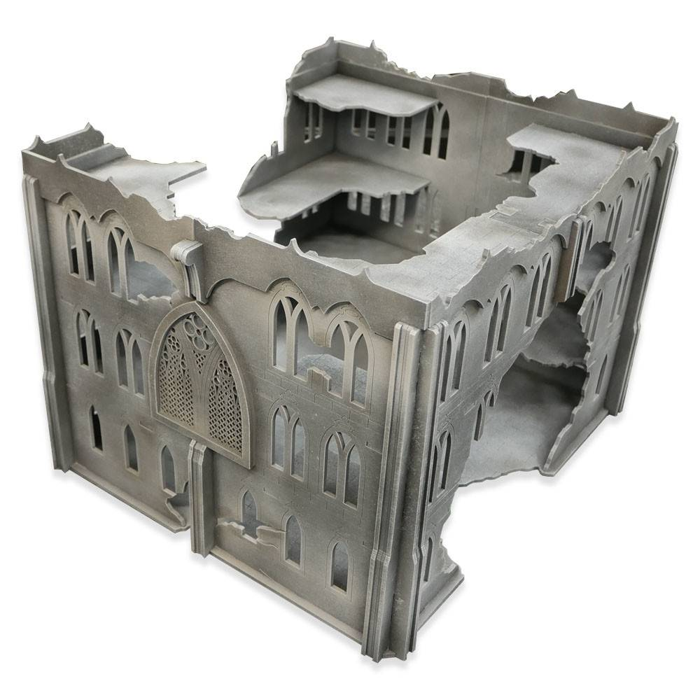 Frontline Gaming ITC Terrain Series: ITC Standard Gothic Ruins Set