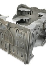 Frontline Gaming ITC Terrain Series: ITC Standard Gothic Ruins Set With Mat