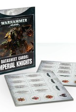 Games Workshop Datasheet Cards: Imperial Knights