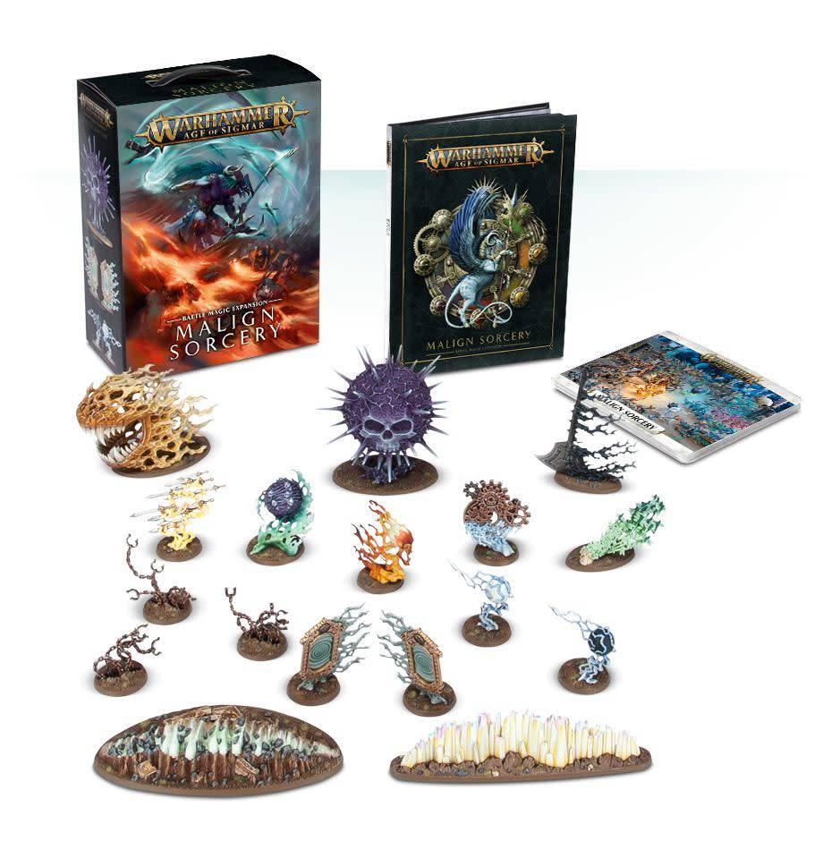 Games Workshop Warhammer Age of Sigmar: Malign Sorcery