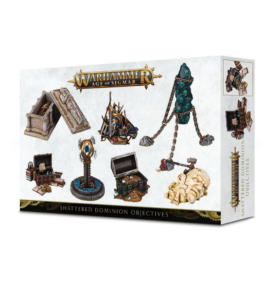 Games Workshop Warhammer Age of Sigmar Shattered Dominion Objectives