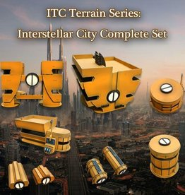 ITC Terrain Series: Interstellar City Complete Set
