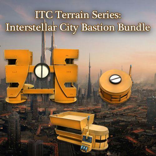 ITC Terrain Series: Interstellar City Bastion Bundle