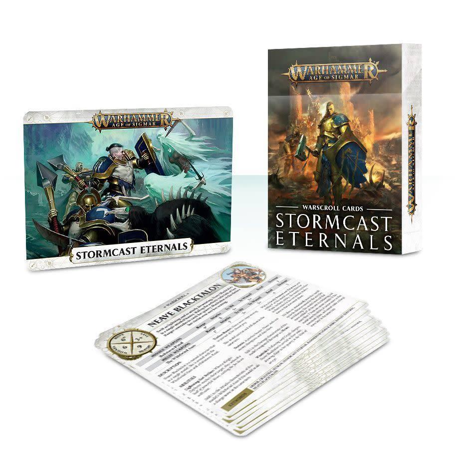 Games Workshop Warscroll Cards: Stormcast Eternals