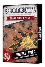 Games Workshop Blood Bowl Chaos Chosen Pitch & Dugout