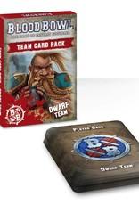 Games Workshop Blood Bowl Team Card Pack – Dwarves