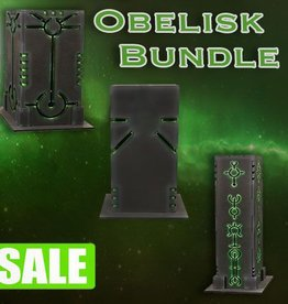Frontline Gaming ITC Terrain Series: Robot City Obelisk Bundle