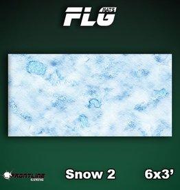 Frontline Gaming FLG Mats: Snow 2 6x3'
