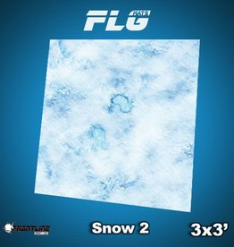 Frontline Gaming FLG Mats: Snow 2 3x3'