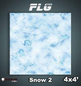 Frontline Gaming FLG Mats: Snow 2 4x4'