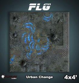 Frontline Gaming FLG Mats: Urban Change 4x4'