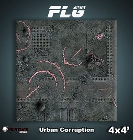 Frontline Gaming FLG Mats: Urban Corruption 4x4'