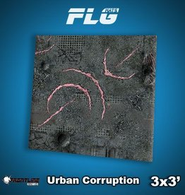 Frontline Gaming FLG Mats: Urban Corruption 3x3'