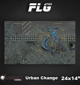 "Frontline Gaming FLG Mats: Urban Change 24"" x 14"""