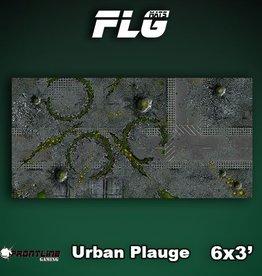 Frontline Gaming FLG Mats: Urban Plague 6x3'