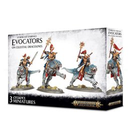 Games Workshop Stormcast Eternals Evocators on Celestial Dracolines