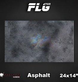 "Frontline Gaming FLG Mats: Asphalt 24"" x 14"""