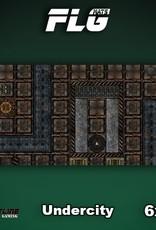 Frontline Gaming FLG Mats: Undercity 6x3'