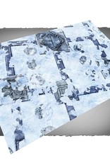 Frontline Gaming FLG Mats: Snow Base 6x4'