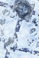 Frontline Gaming FLG Mats: Snow Base 6x3'