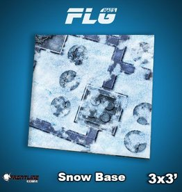 Frontline Gaming FLG Mats: Snow Base 3x3'