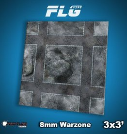 Frontline Gaming FLG Mats: 8mm Warzone 3x3'