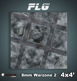 Frontline Gaming FLG Mats: 8mm Warzone 2 4x4'