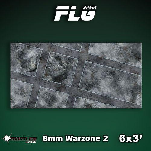 Frontline Gaming FLG Mats: 8mm Warzone 2 6x3'