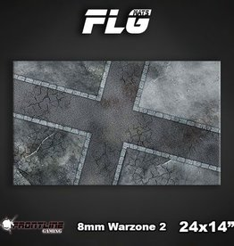 "Frontline Gaming FLG Mats: 8mm Warzone 2 24"" x 14"""