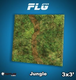 Frontline Gaming FLG Mats: Jungle 3x3'