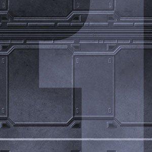 "Frontline Gaming FLG Mats: Spaceship 24"" x 14"""