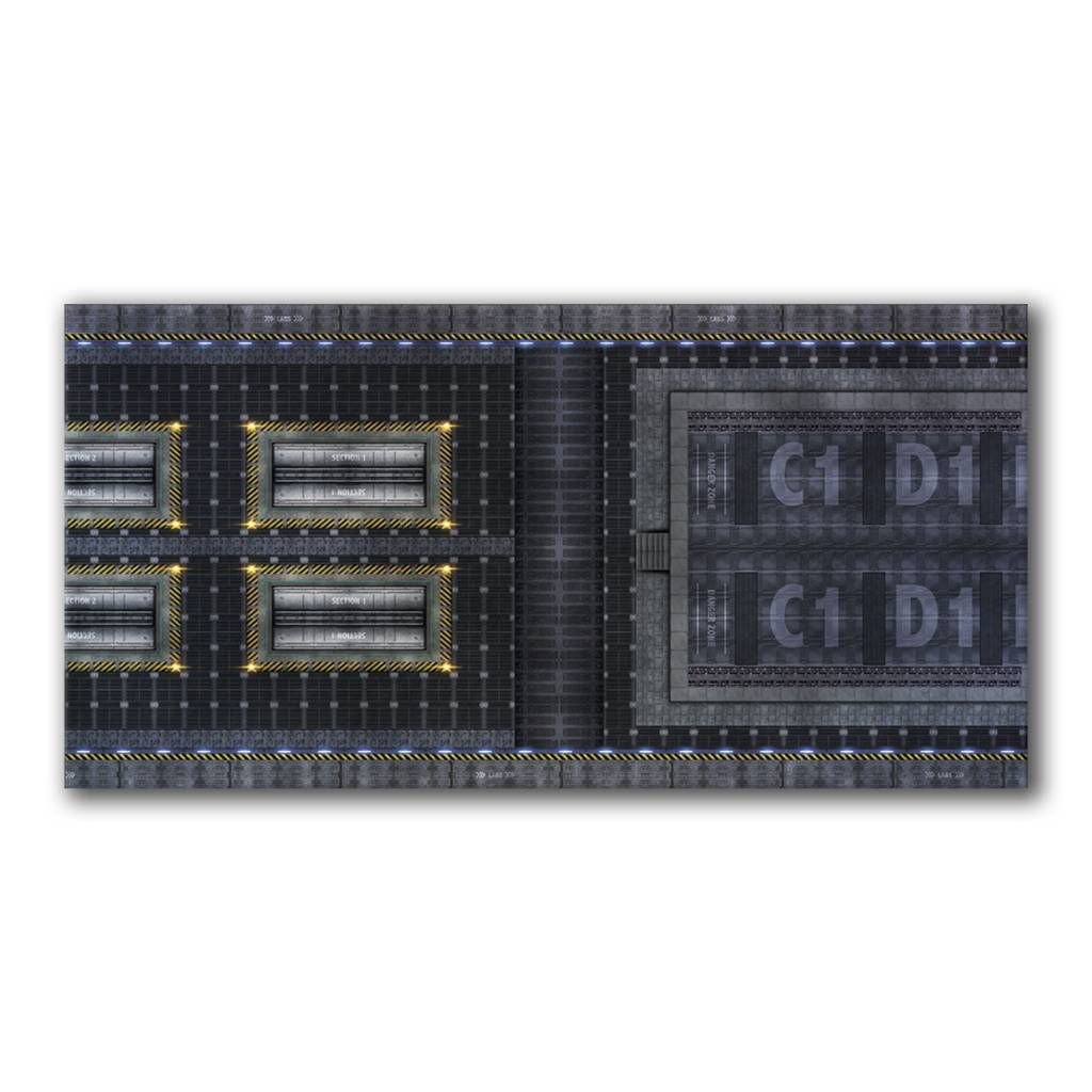 Frontline Gaming FLG Mats: Spaceship 1 6x3'