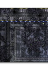 Frontline Gaming FLG Mats: Infested Spaceship 1 3x3'