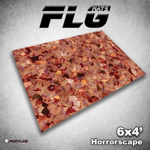 Frontline Gaming FLG Mats: Horrorscape 6x4'