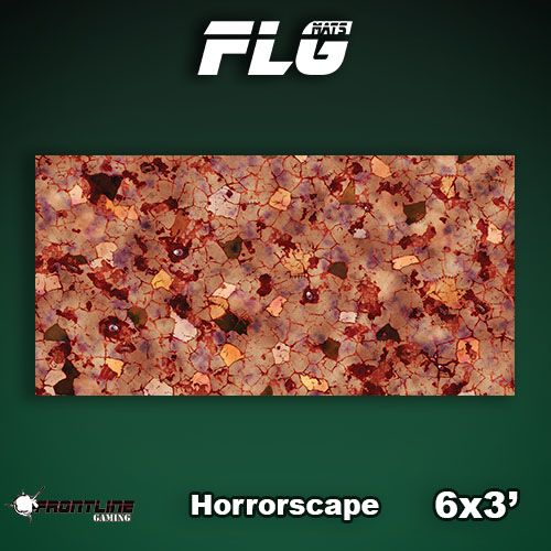 Frontline Gaming FLG Mats: Horrorscape 6x3'