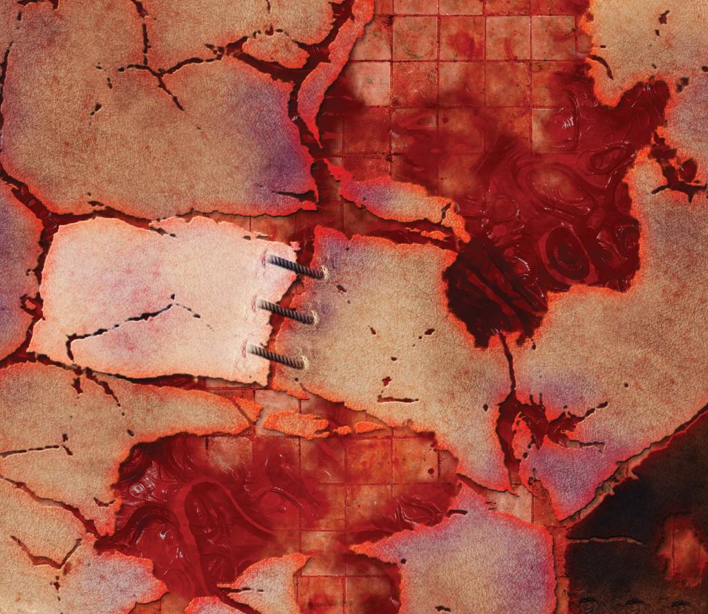 Frontline Gaming FLG Mats: Horrorscape 3x3'