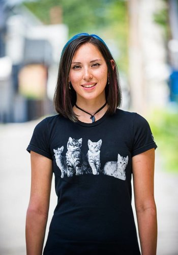 Positive Approach Cat 4 Womens T-Shirt