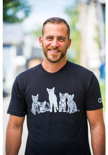 Positive Approach Cat 5 T-Shirt Men's