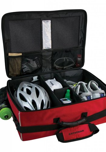 Cat5 Cyclist Gear Case Race Red