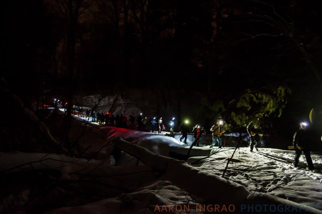 moonlight snowshoe adventure buffalo ny