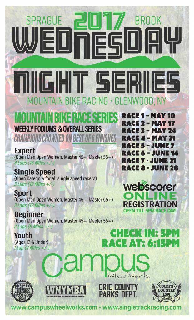 The Brook MTB series Returns May 10th!