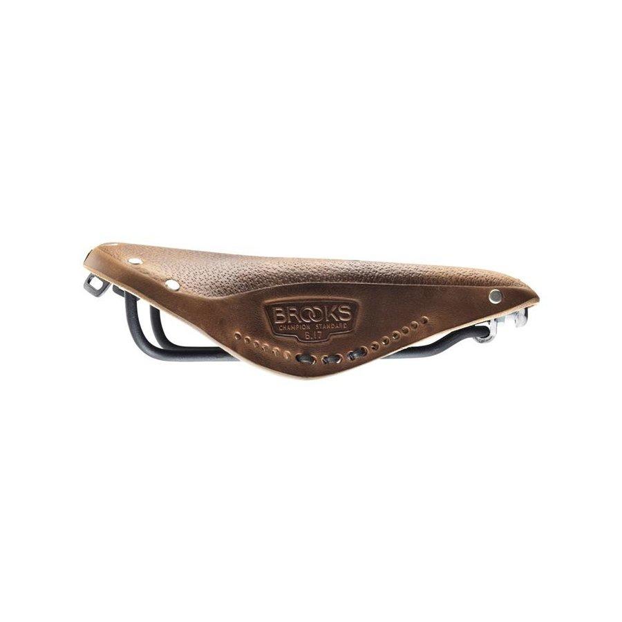 Brooks B17 Pre-Aged Saddle Dark Tan