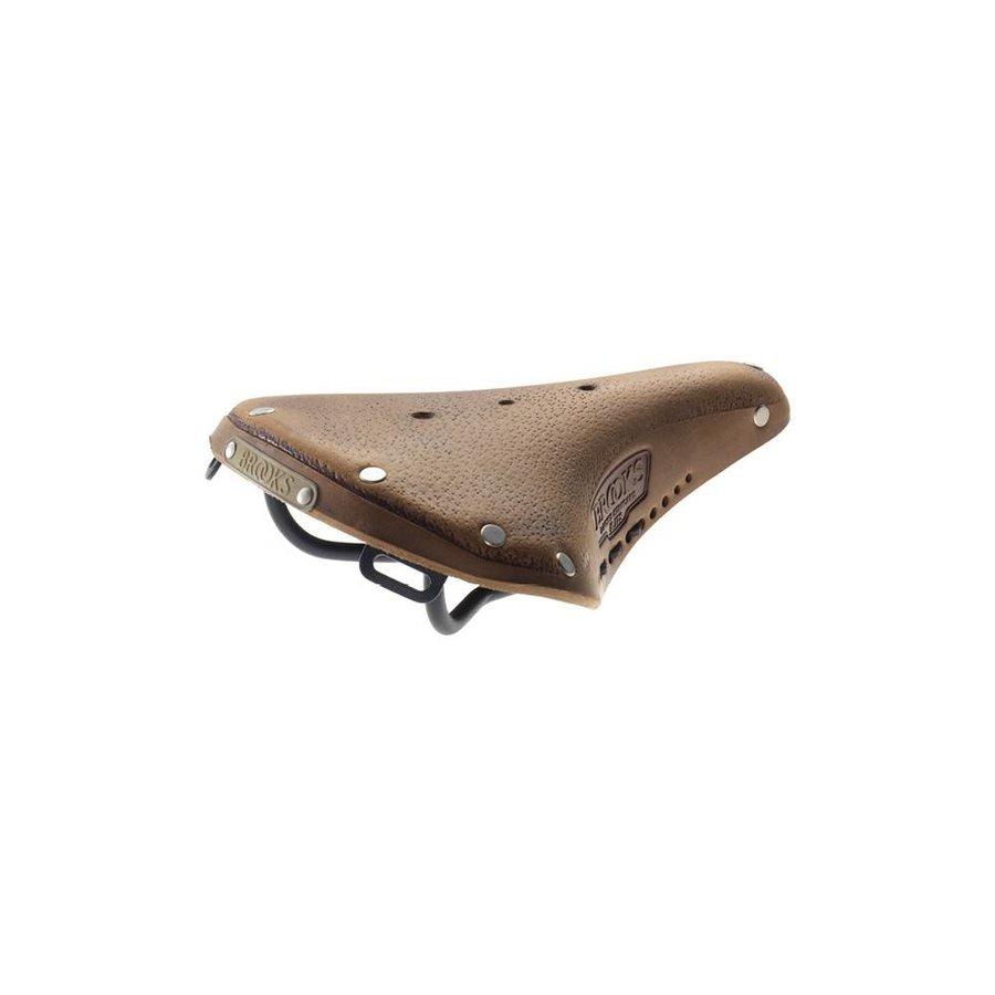 Brooks B17s Pre-Aged Saddle Dark Tan