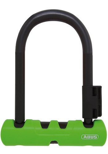 "ABUS Abus Ultra 410 Ulock Mini: (7"") Black/Green"