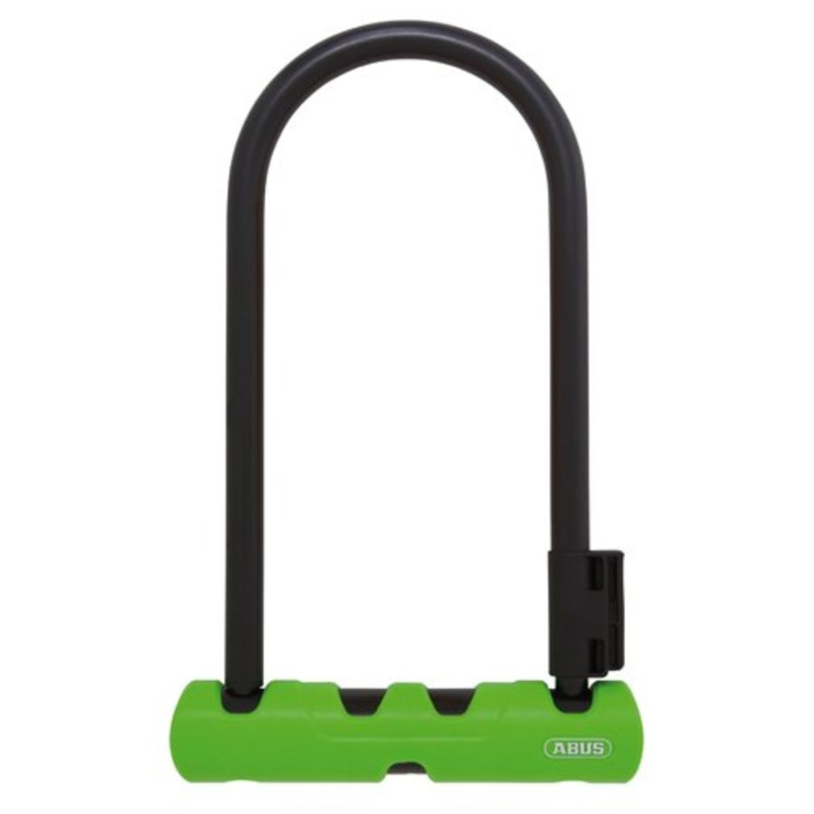 "Abus Ultra 410 Ulock: (9"") Black/Green"
