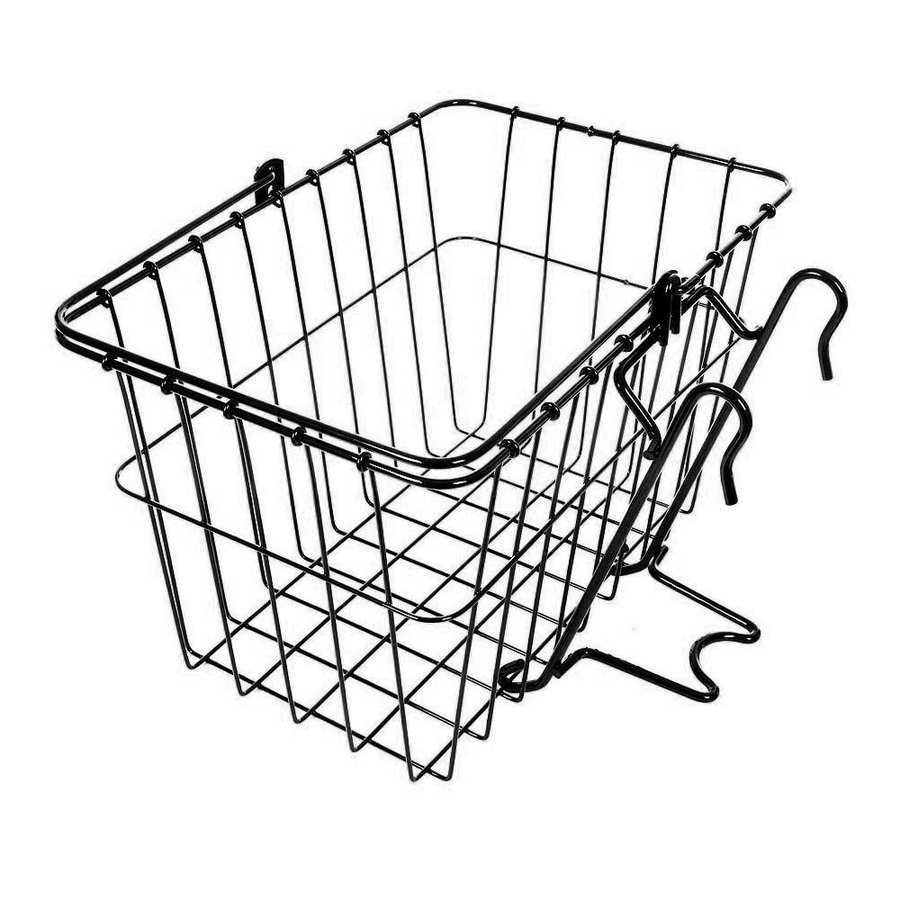 Wald 133 Front Removable Basket Black