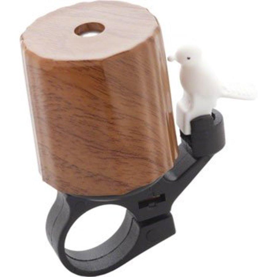 Dimension Woodpecker Bell: Wood Grain