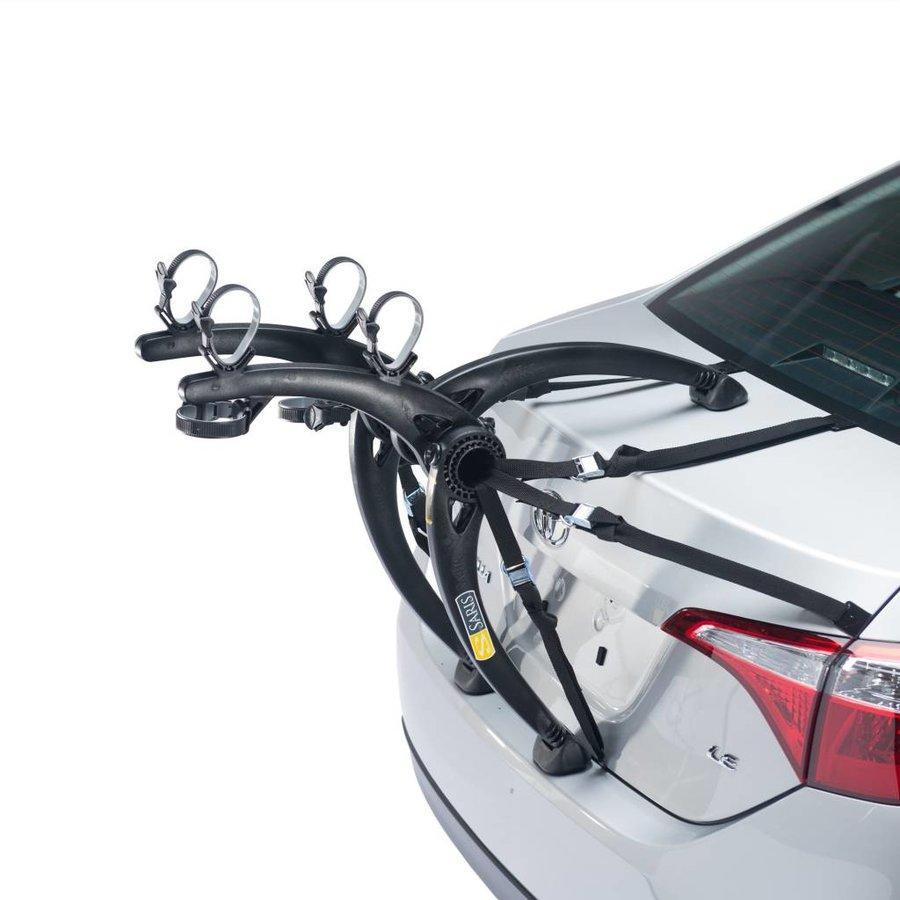 Saris Bones Trunk Rack: 2-Bike Black